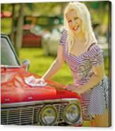 Emily #2 Royal Holden Canvas Print