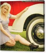 Emily #5 Royal Holden Canvas Print