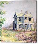 Emily Carr's Birthplace Canvas Print