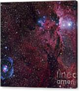 Emission Nebula Ngc 6188 Star Formation Canvas Print