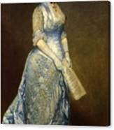 Emma Cecilia Thursby Canvas Print