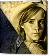 Emma Watson Collection Canvas Print