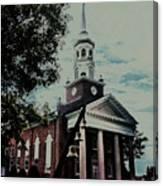 Emmanuel Bell Tower Canvas Print