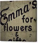 Emma's Canvas Print
