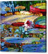 Emotions Of Color Light And Texture Canvas Print