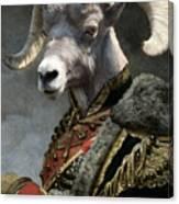 Emperor Jstor Jax Canvas Print