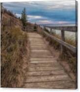 Empire Bluffs 3 Canvas Print