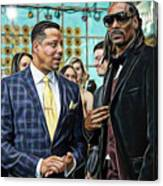 Empire Lucious And Snoop Dog Canvas Print