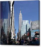 Empire State Of Mind In The Late Springtime Canvas Print