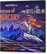 Empress Of Mercury 2 Canvas Print