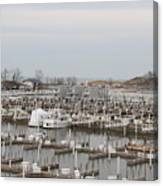 Empty Harbor Canvas Print