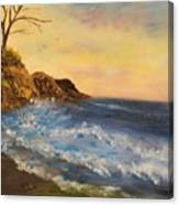 Empty Shore Canvas Print