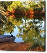Emu Creek Station 2am-111427 Canvas Print