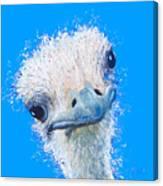 Emu Painting Canvas Print