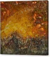 Encaustic Sky Blaze Canvas Print