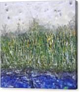 Encaustic Water Scene Canvas Print