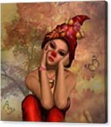 Enchanted Acorn Elf Canvas Print