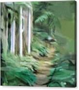 Enchanted English Folly Canvas Print