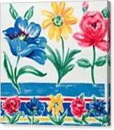 Enchanted Florals Canvas Print