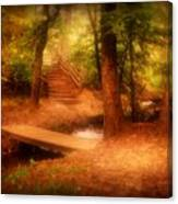 Enchanted Path - Allaire State Park Canvas Print