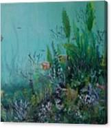 Endangered Green Canvas Print