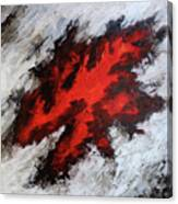 Endeavor Abstract Expressionism Canvas Print