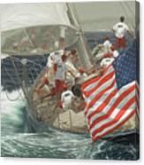 Endeavour's Flag Canvas Print