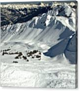 Endless Cpr Ridge At Kicking Horse Canvas Print