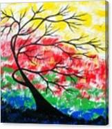 Energy Expressions Vivid Canvas Print
