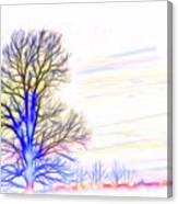 Energy Tree Canvas Print