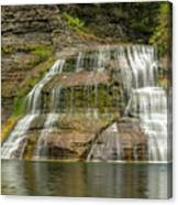 Enfield Falls Tompkins County New York Canvas Print