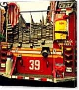 Engine 39 - New York City Fire Truck Canvas Print