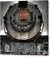 Engine 460 Front And Center Canvas Print