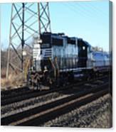 Engine 5664 Passing Bye Canvas Print