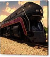 Engine #611 In Ole Town Petersburg Virginia Canvas Print