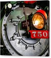 Engine 750 Canvas Print