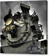 Engine 757 Canvas Print
