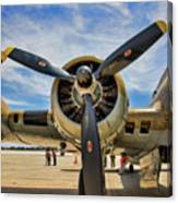 Engine B-17 Canvas Print