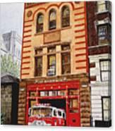 Engine Company 47 Canvas Print