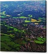 An Aerial Vision Of England Canvas Print