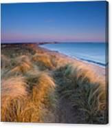 England, Northumberland, Blyth Canvas Print