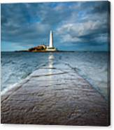 England, Tyne And Wear, Whitley Bay  Canvas Print