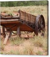 Engles Wagon Canvas Print