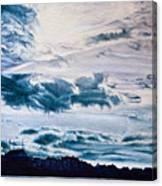 English Beach Canvas Print