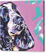 English Cocker Canvas Print