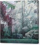 English Estate Canvas Print