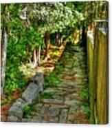 English Gardens Canvas Print