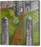 English Manor Canvas Print