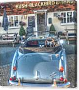 English Pub English Car Canvas Print