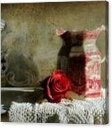 English Rose Water  Canvas Print